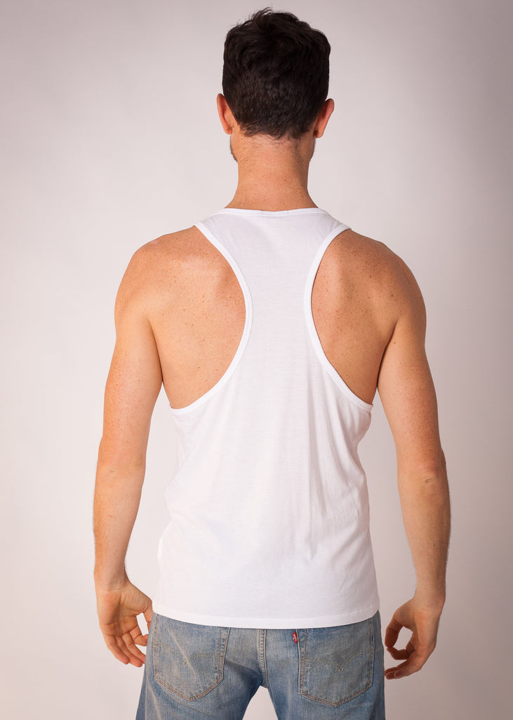 Sweat! Mens Racerback Singlet