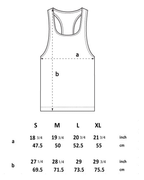 Sweat! Blow it up! Racerback Singlet
