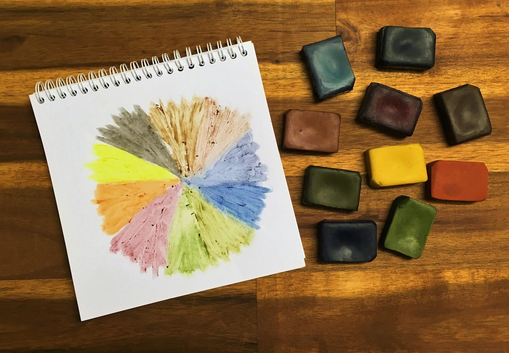 natural eco crayons are the only 10 colour palette plant based vegan crayons in the world