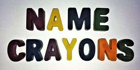 Name Crayons: eco-friendly, 100% natural plant crayons
