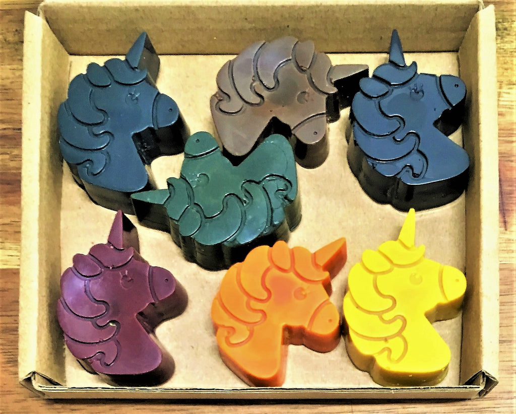 ECO CRAYONS: Unicorn Crayons - 100% natural, plant based crayons