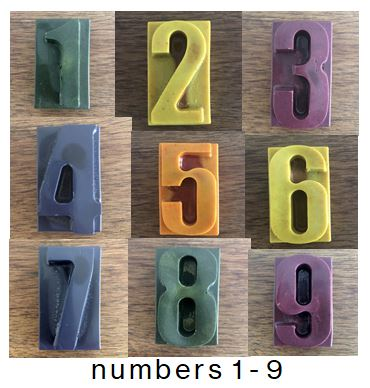 Party Favours -Numbers
