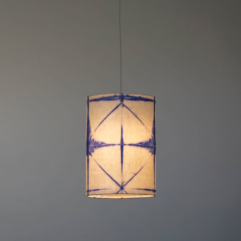 Tower Shibori Pendant Lamp (Blue Star)
