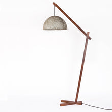 Camber Scepter Floor Lamp with Vault 2 Shade