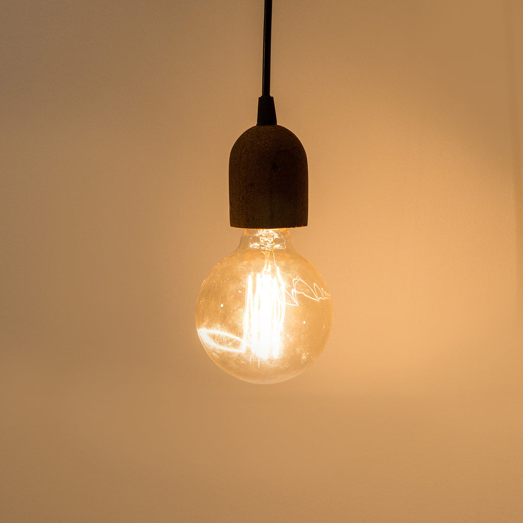 Cork Bulb Holder (light)
