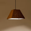 Cork Weaved Trapeze Light