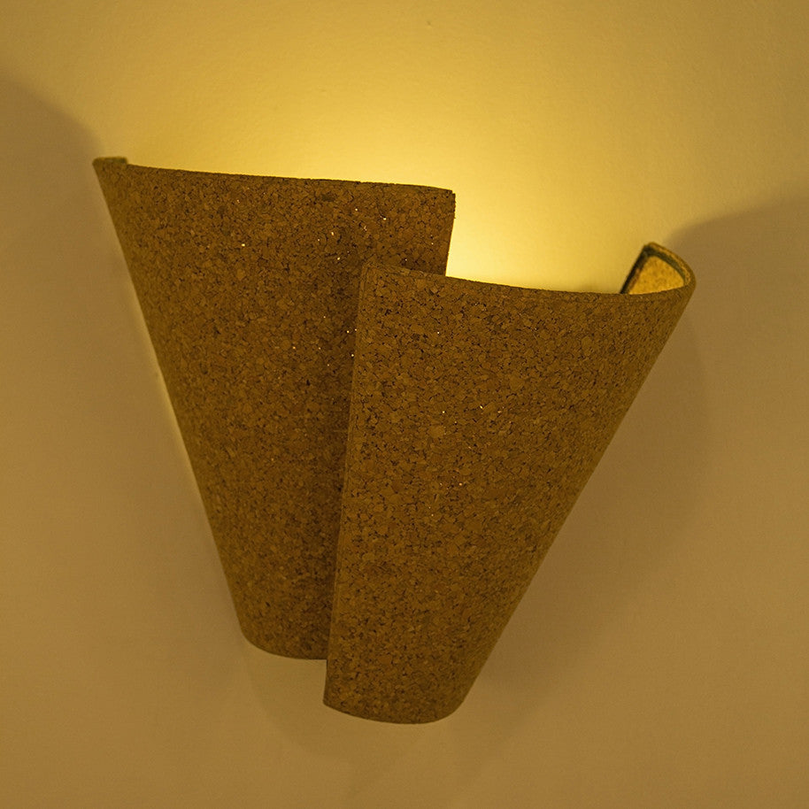 Buy Wall Light | Cork Wrap | Free Shipping – Oorjaa