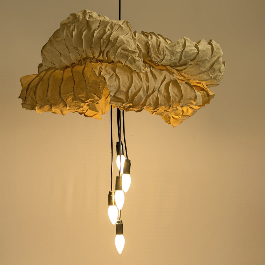 Double Passion Flower Pendant Lamp