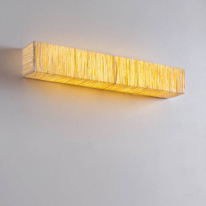 Square Tube Crushed Cover Wall Lamp