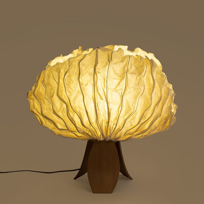 Flame of Forest concave Table Lamp