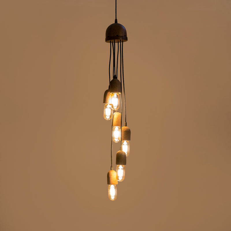 Cork Cluster Hanging Light