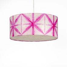 Pink Drum Shibori Star Pendant Lamp