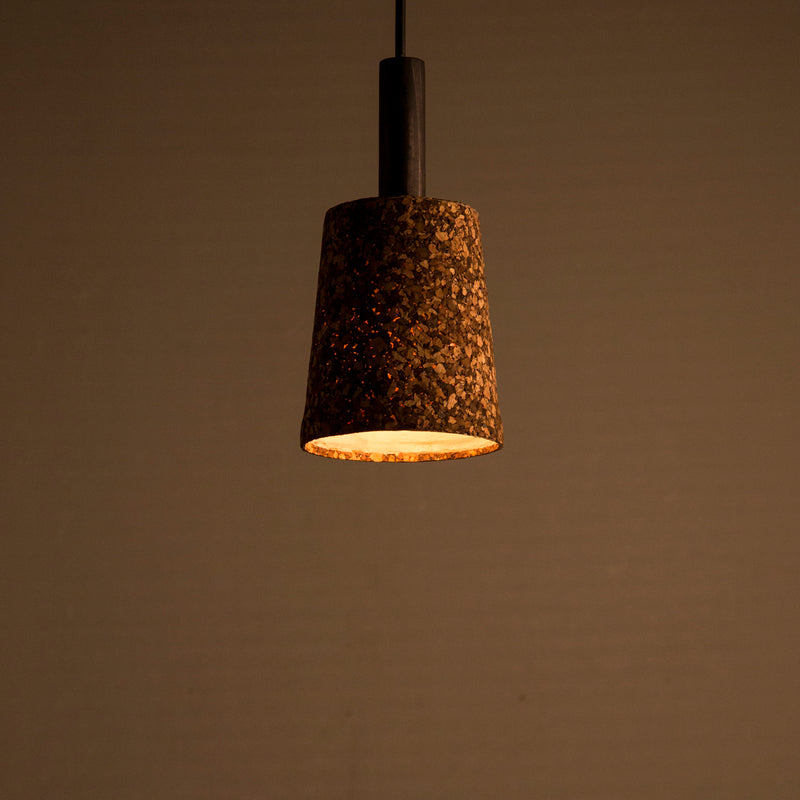 Carmel Dark Black Pendant Lamp