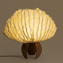 Flame of Forest convex Table Lamp