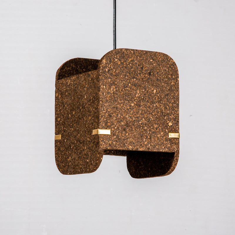 Jude Pendant Lamp (Dark Cork)