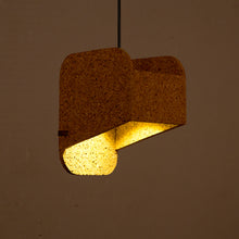 Jude Sliced Pendant Lamp (Light cork)