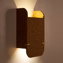 Jude Wall Lamp (Dark Cork)
