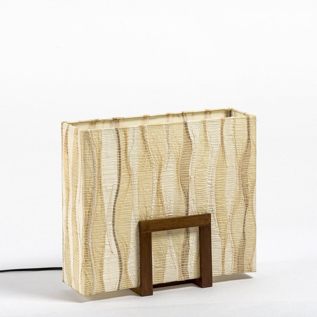 Un-Block Woven Table Lamp