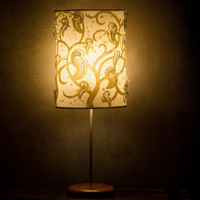 Parrots Shadow Play Table Lamp