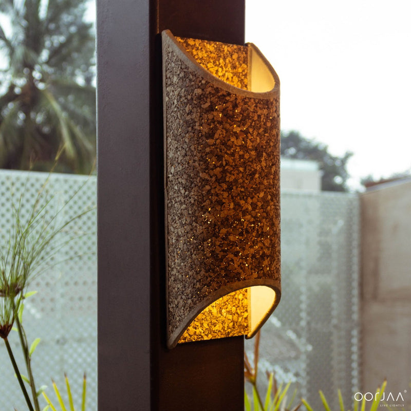 Cork Wall Lamp