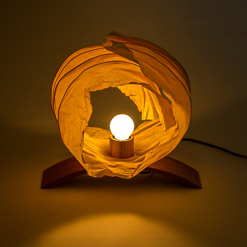 Enzo Crushed Table Lamp