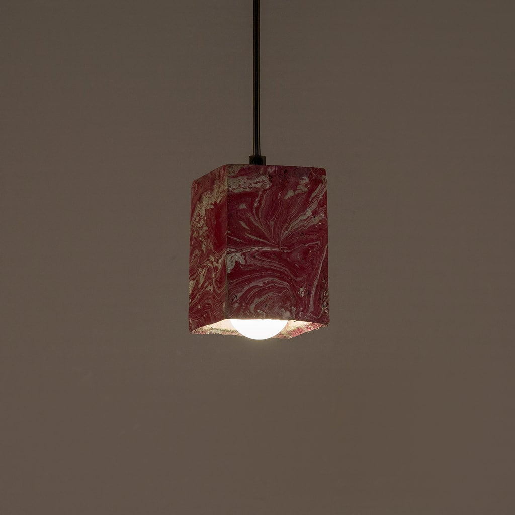 Blossom Dappled Cubiture Pendant Lamp