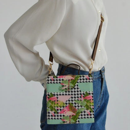 Flamingo Box Bag