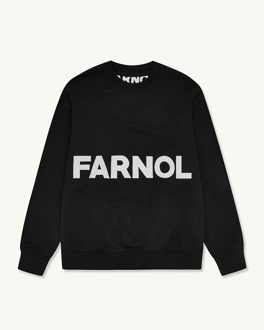 Branded Sweatshirt | Black - Farnol