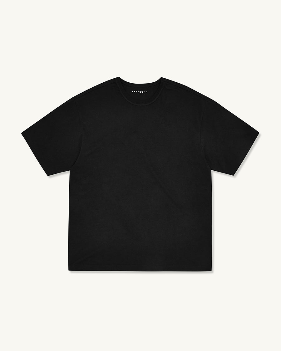 Short Sleeve T-shirt | Black - Farnol