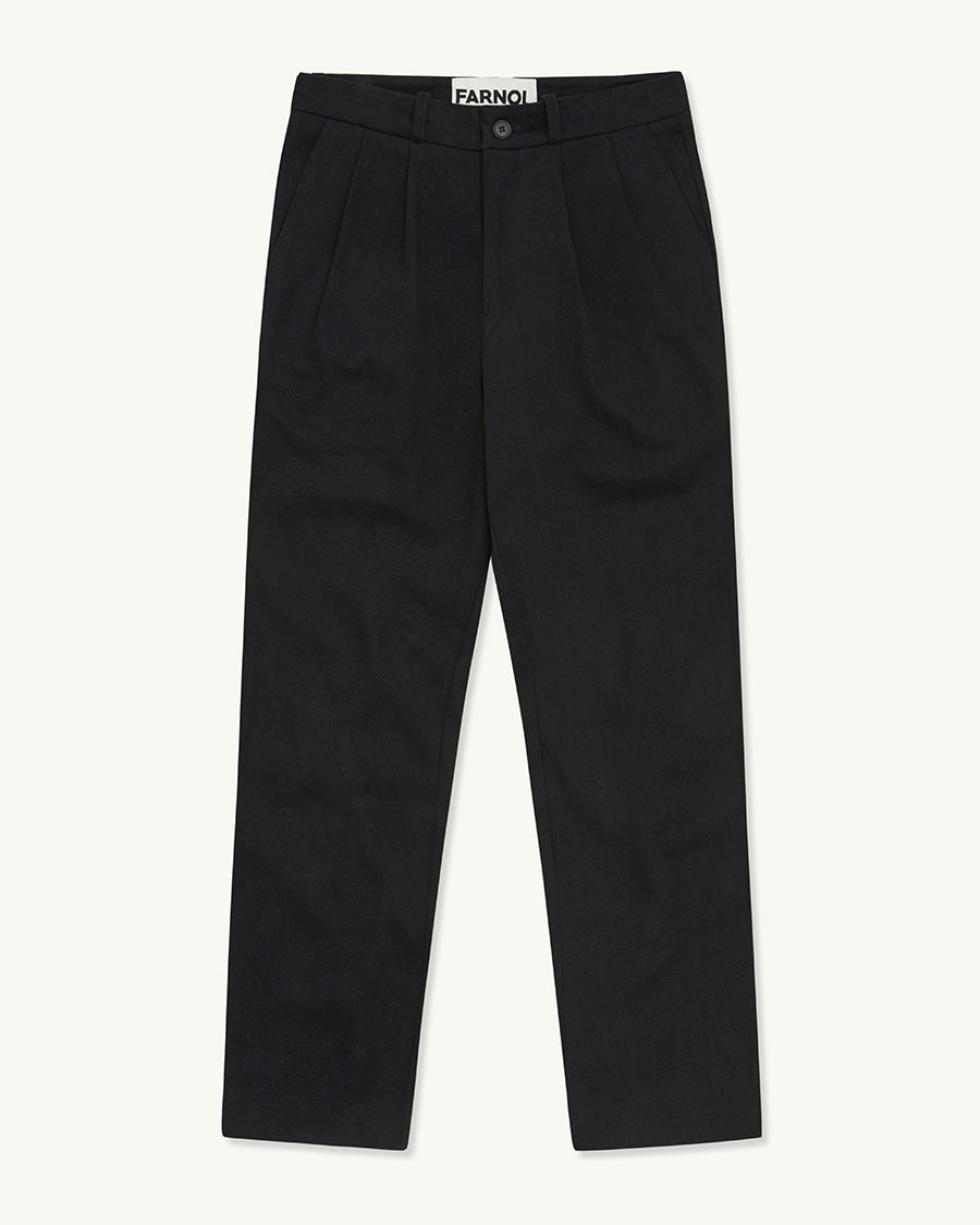 Loose Fit Worker Pant | Dark Navy - Farnol