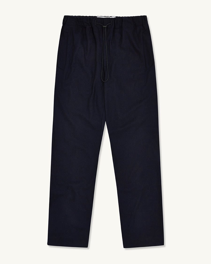 Drawcord Seamless Trouser | Dark Navy - Farnol