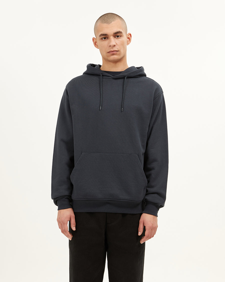 Stepney Hooded Sweatshirt | Dark Navy