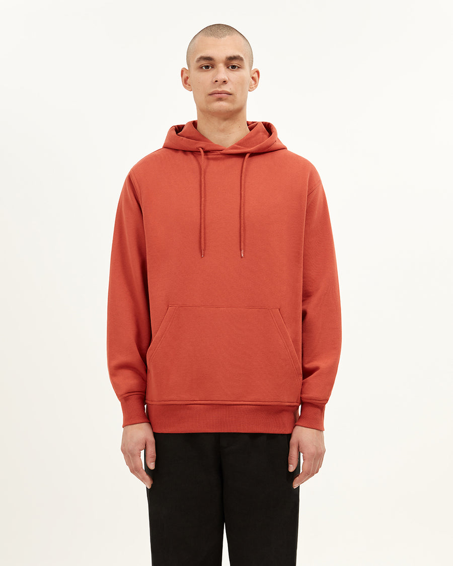 Stephney Hooded Sweatshirt | Terracotta