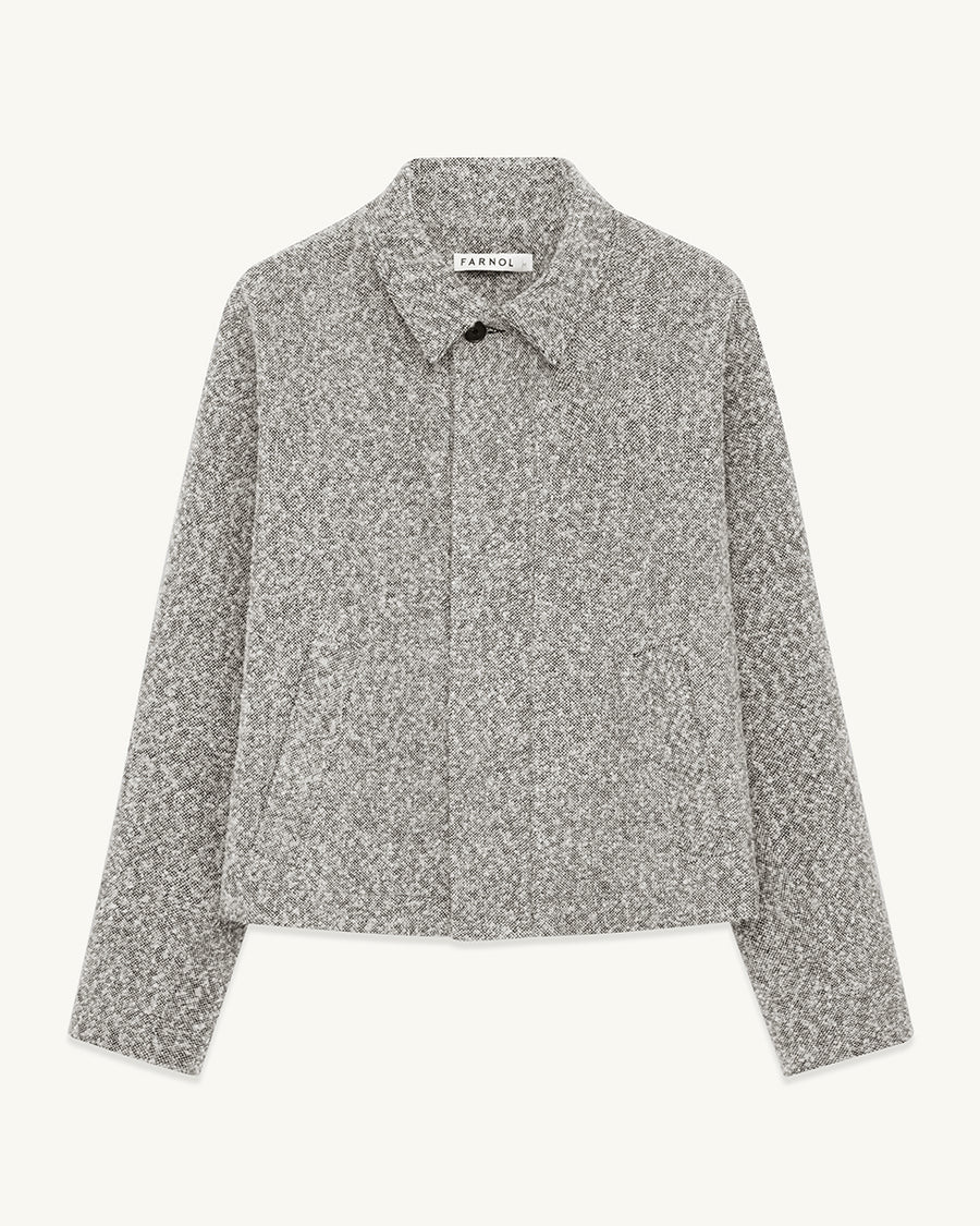 Structured Jacket | Grey - Farnol