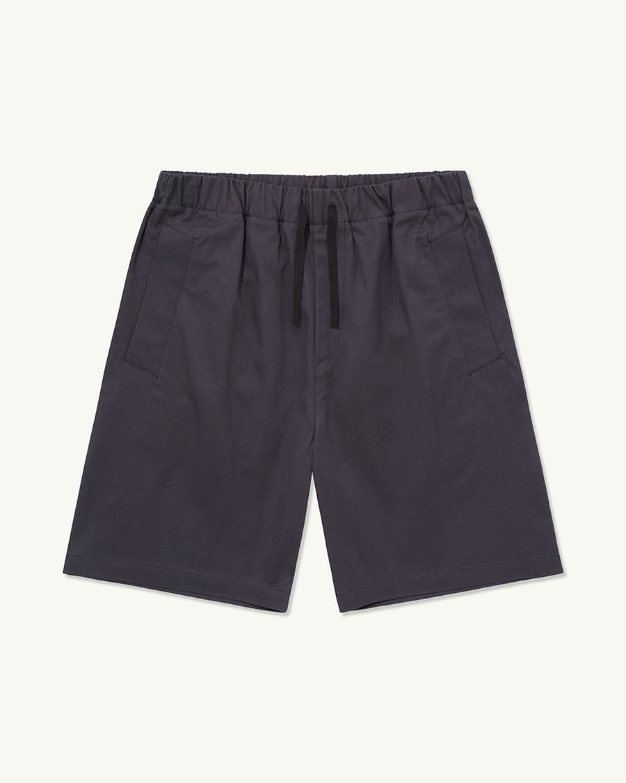 Drawcord Shorts | Navy - Farnol