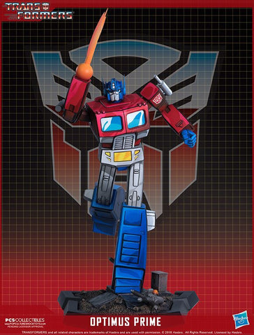 Transformers - Optimus Prime Classic Series Statue Pop Culture Shock Collectibles - TOYBOT IMPORTZ