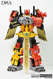 DNA Design- DK-07 - Predaking Upgrade Kit - TOYBOT IMPORTZ