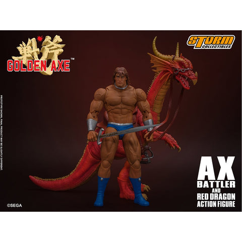 Storm Collectibles - Golden Axe: Ax Battler & Red Dragon Storm Collectibles - TOYBOT IMPORTZ