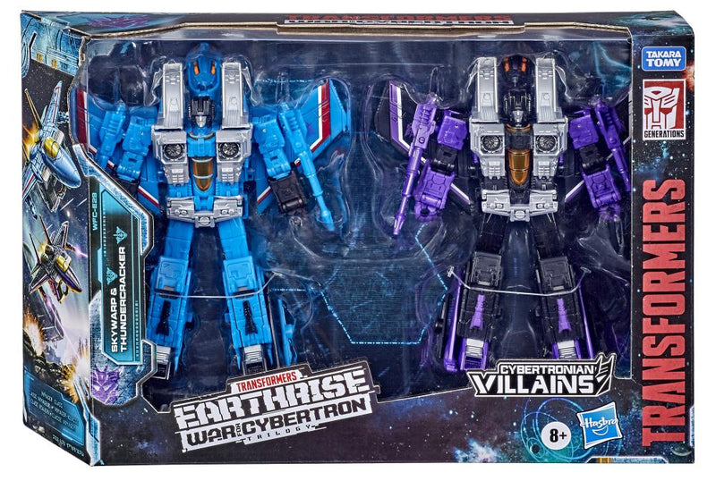 Transformers - WFC Earthrise: Skywarp and Thundercracker 2 Pack