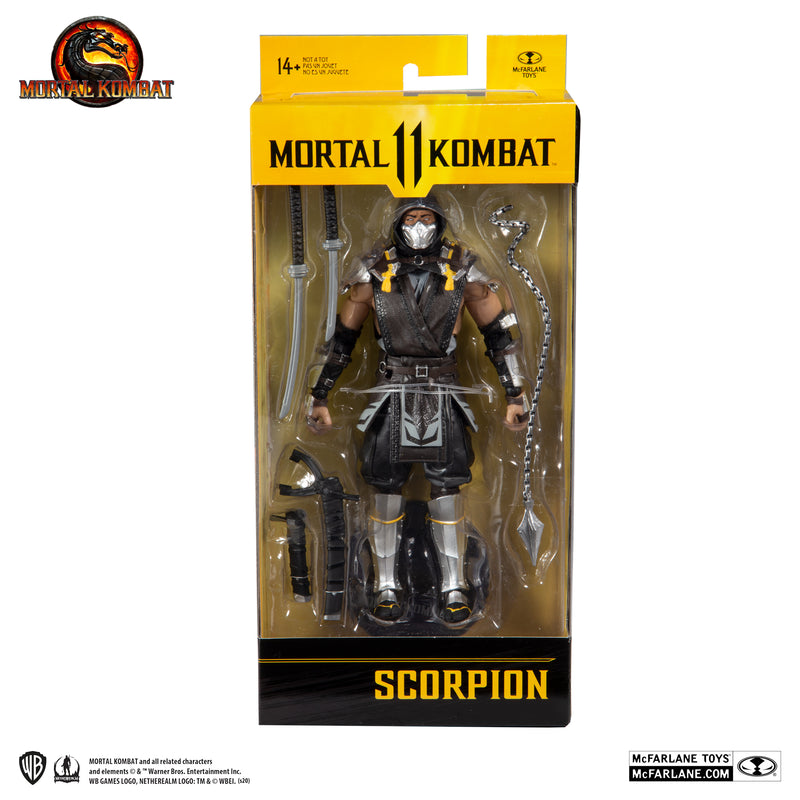 McFarlane Toys - Mortal Kombat: SCORPION (IN THE SHADOWS)