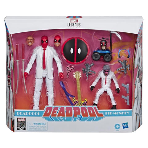 Marvel Legends - 80th Anniversary: Deadpool and Hit Monkey [Exclusive] HASBRO - TOYBOT IMPORTZ