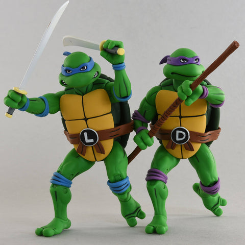 TMNT - Leonardo & Donatello Action Figure 2-pack