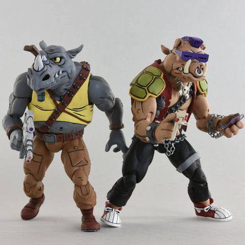 TMNT - Bebop & Rocksteady Action Figure 2-pack