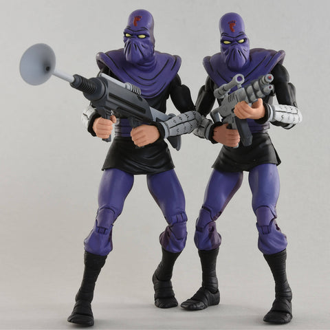 TMNT - Foot Soldier Action Figure 2-pack NECA - TOYBOT IMPORTZ