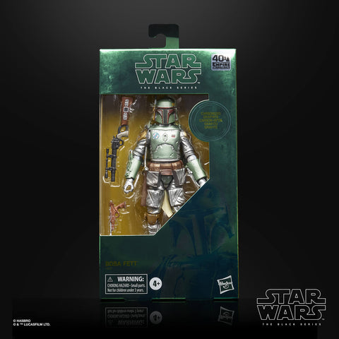 Star Wars - The Black Series: Carbonized Boba Fett
