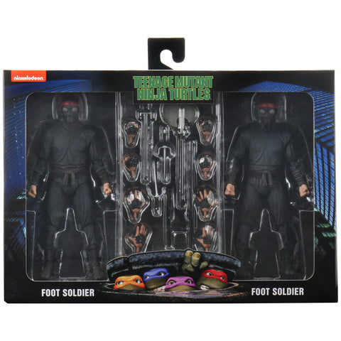 "NECA - TMNT (1990) 7"" Action Figure : Foot Soldier 7"" 2-pack"