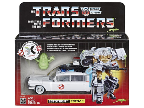 Transformers X Ghostbusters - Ecto-1 Ectotron HASBRO - TOYBOT IMPORTZ