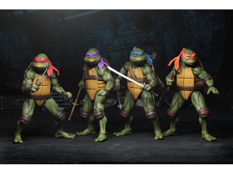 "NECA - TMNT (1990) - 7"" Action Figure Bundle NECA - TOYBOT IMPORTZ"