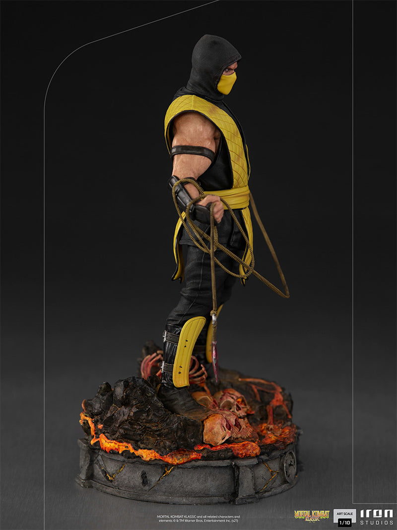 Iron Studios - Mortal Kombat: Scorpion 1:10 Scale Statue