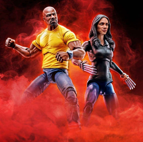 Marvel Legends - Luke Cage and Claire Temple 2 Pack Exclusive HASBRO - TOYBOT IMPORTZ